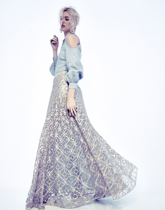 BEHIND THE SCENES OF PAYAL SINGHAL SS14 SHOOT