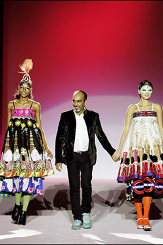 Indian Fashion Designer Manish Arora