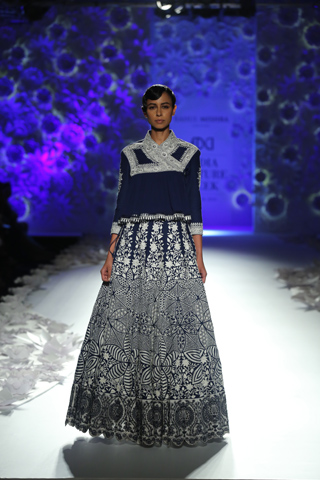 RAHUL MISHRA AT INDIA COUTURE WEEK